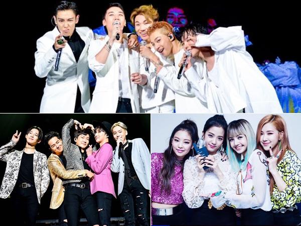 Habiskan Sisa Tahun 2016, Ini Rencana Besar YG Entertainment untuk Para Artisnya