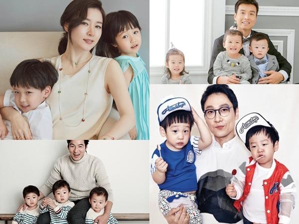 Twins Hingga Triplets, Ini Anak-Anak Kembar Seleb Korea yang Lucu nan Menggemaskan!