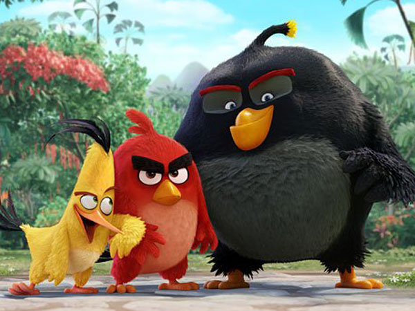 Aktor dan Komedian Top Berkumpul Untuk Suarakan Animasi 'Angry Birds' !