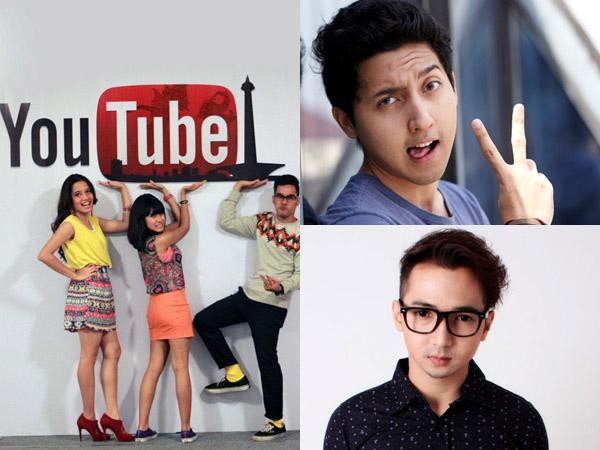 Inilah 3 Artis Populer Indonesia yang Sukses Melejit Lewat YouTube