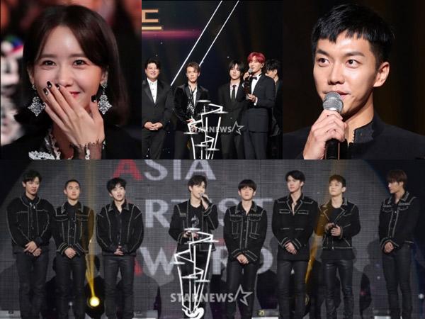Rookie Hingga Sunbae, Berikut Daftar Lengkap Pemenang 'Asia Artist Awards 2017'!