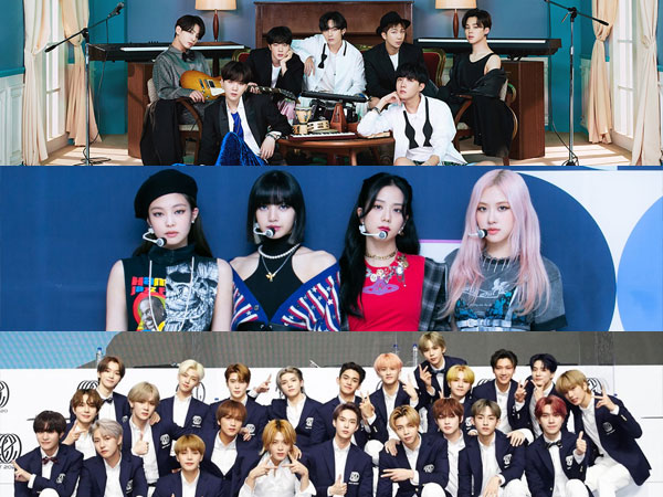 Inilah Artis K-Pop yang Tempati Chart Billboard World Albums Minggu Ini