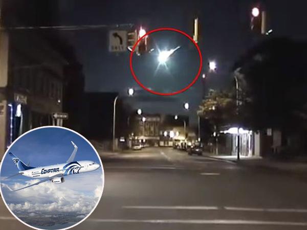 Teori Baru, EgyptAir Diperkirakan Jatuh Karena Terkena Pecahan Meteor?