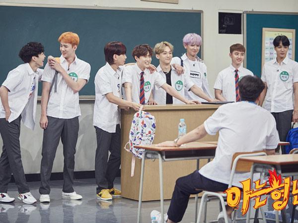 Pembicaraan Dewasa Hingga Dimarahi Ibu Warnai Keseruan EXO di 'Knowing Brother'