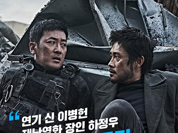 4 Hari Tayang, Film Ashfall Raih 2 Juta Penonton