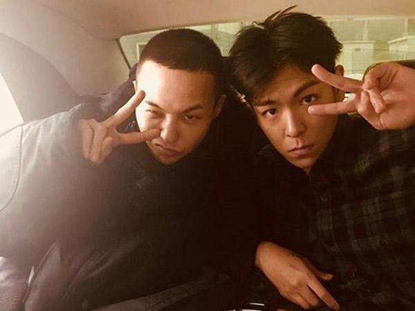 Ternyata T.O.P Diam-diam Ikut Antar G-Dragon Wamil dan Beri Hadiah Spesial Ini