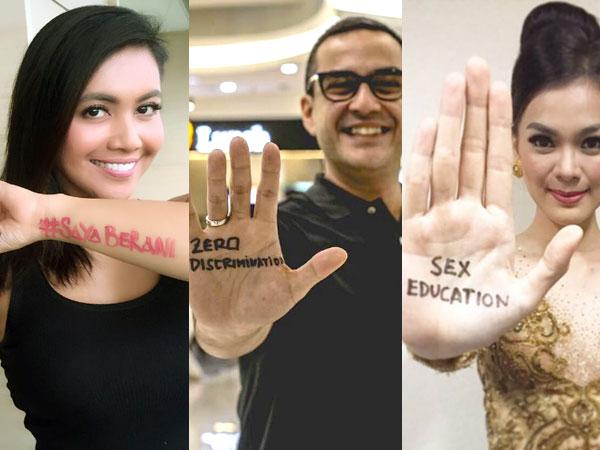 Peringati Hari AIDS, Para Selebriti Ajak Masyarakat Peduli Soal Kesehatan