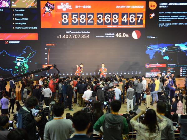 Perusahaan Raksasa Alibaba Raup Puluhan Triliun di Hari Lajang di China