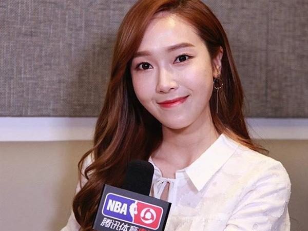 Jessica Jung Terlihat Hadir Sebagai Tamu VIP Pertandingan Final NBA di Amerika