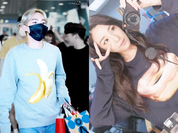 Ini Dia Sweater Pisang dan Donat yang Jadi Tren Fashion di Kalangan Idola K-Pop
