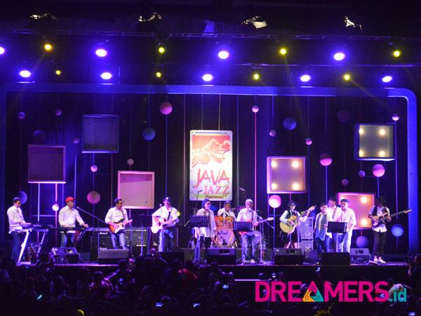 Percikan Kejutan Band Para Menteri Jokowi Buat Java Jazz Festival 2018 'Tumpah Ruah'