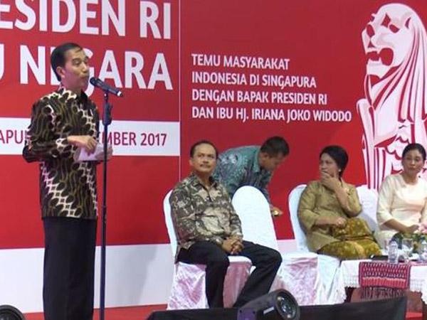 Kocaknya Momen Gelisah Ibu Iriana Melihat Rambut Acak-acakan Jokowi, Bikin Geregetan!