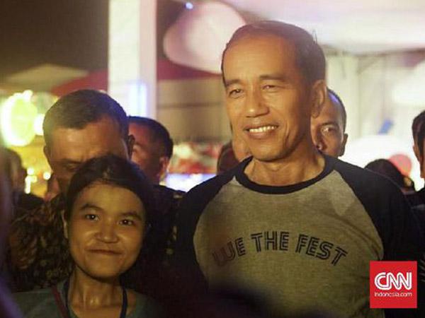 Presiden Jokowi Mendadak Datang Hebohkan Hari Pertama 'We The Fest 2017'!