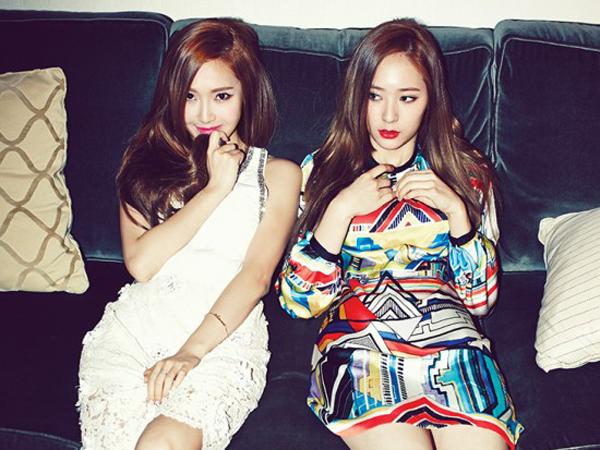 Jessica Jung dan Krystal f(x) Terlihat Asyik Nikmati Liburan di New York