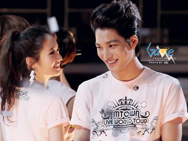 Pasangan Fan Fiction Jadi Nyata, Bagaimana Awal Hubungan Asmara Kai EXO dan Krystal f(x)?