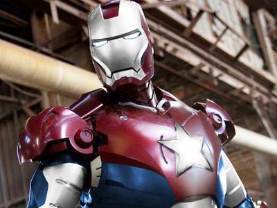 Kostum Terbaru Iron Man Lebih Nasionalis