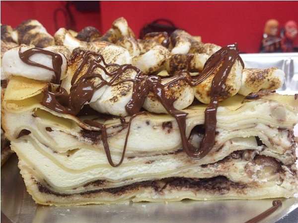 Lezatnya Nutellasagna, Saat Pasta dan Coklat Dipadukan Menjadi Hidangan Penutup