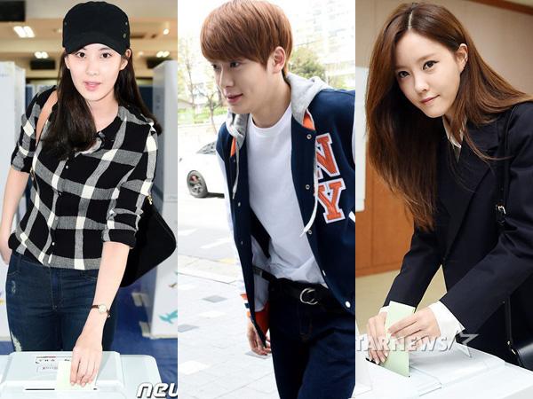 Pemilu Digelar, Para Idola K-Pop Ini Terlihat Hadir di Lokasi Pemungutan Suara