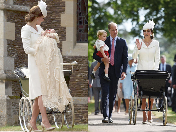 Dari Gaun Baptis Hingga Stroller Berusia 50 Tahun, Simak Hal Menarik di Pembaptisan Putri Charlotte