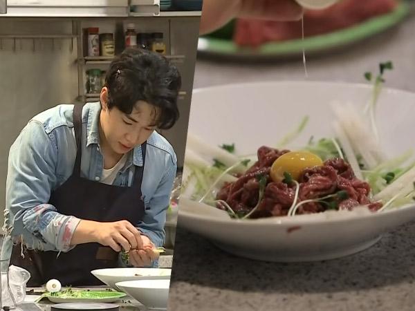 Yukhoe, Hidangan Daging Sapi Mentah Khas Korea Kesukaan Henry Lau