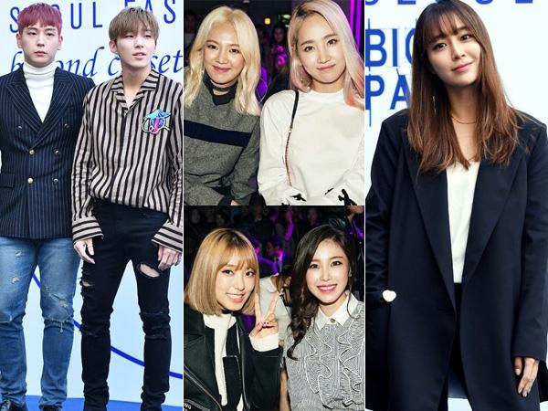 Resmi Digelar, Ini Dia Para Selebriti yang Hadir di Seoul Fashion Week S/S 2017 Hari Pertama