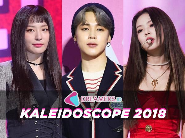 Jimin BTS Hingga Jennie BLACKPINK, Inilah Daftar Idola K-Pop Paling Top Sepanjang 2018