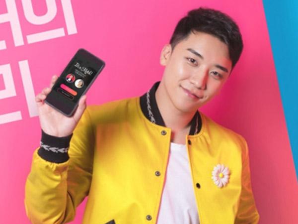 Seungri BIGBANG Ditunjuk Jadi Brand Ambassador Aplikasi Tinder Korea