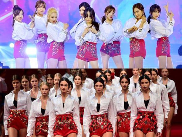 Kostum Panggung SNSD di KBS 'Music Festival 2014' Tiru Brand Fashion Dolce & Gabbana?