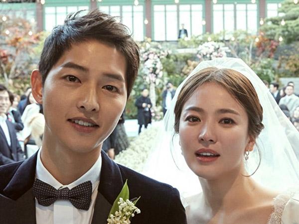 So Sweet, Song Joong Ki Ungkap Rasa Cinta Mendalam ke Song Hye Kyo Jelang Setahun Pernikahan