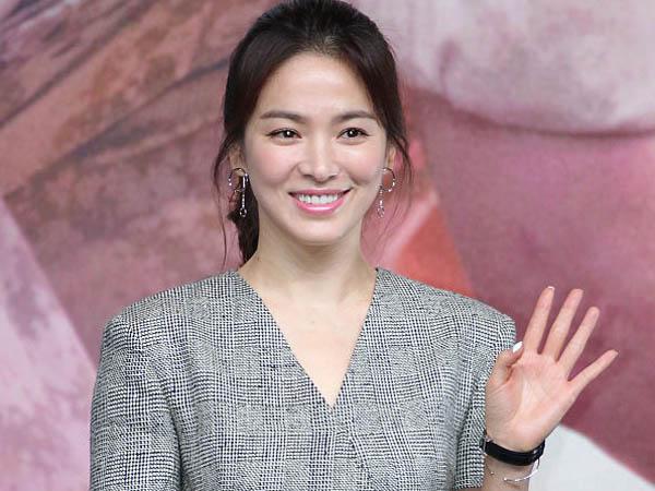 Tunjukan Kerendahan Hati, Song Hye Kyo Gunakan Biaya Sendiri Untuk Konferensi Persnya