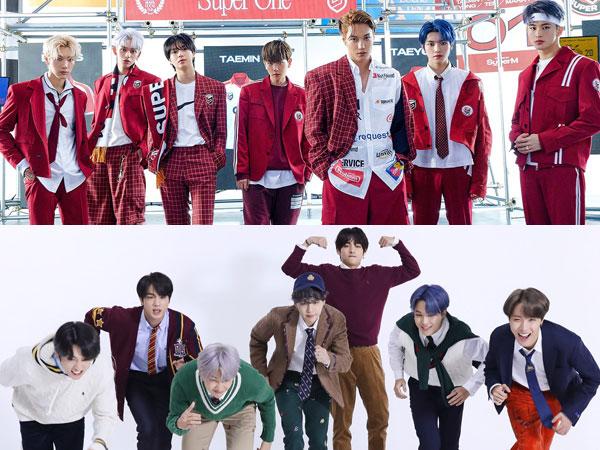 SuperM Geser BTS di Chart Billboard World Albums Minggu Ini