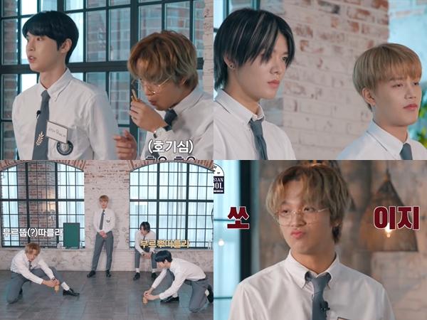 Doyoung, Taeil, Haechan dan Yuta NCT Adu Main Gasing, Siapa yang Menang?