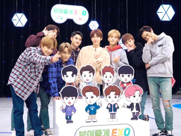 Ada Lima Episode, EXO Umumkan Jadwal Tayang Variety Show Barunya