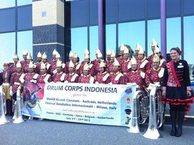 Wow, Drum Corps Indonesia Sukses Boyong Medali di WMC 2013!