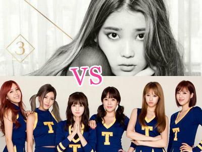 IU vs T-ARA, Siapa yang Akan Curi Perhatian Fans di Bulan Oktober?