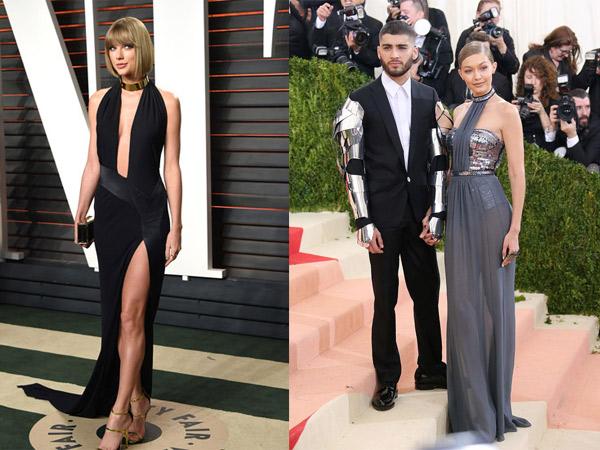 Nikmati Status Jomblo, Taylor Swift Ikut Kencan Bareng Zayn Malik dan Gigi Hadid