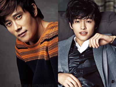 Lee Byung Hun dan Song Joong Ki Jadi Aktor Film Paling Bersinar di 2012