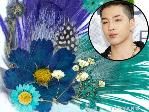 Berhias Bunga dan Bulu Sungguhan, Berapa Harga Album 'Aesthetic' Taeyang?