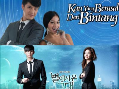 Dianggap Plagiat, SBS Ikut Turun Tangani Sinetron 'Kau Yang Berasal Dari Bintang'