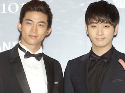 Chansung & Taecyeon 2PM Syuting Running Man Sebelum Ke Jepang
