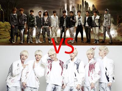 Kontroversi Voting EXO vs B.A.P di MAMA 2012