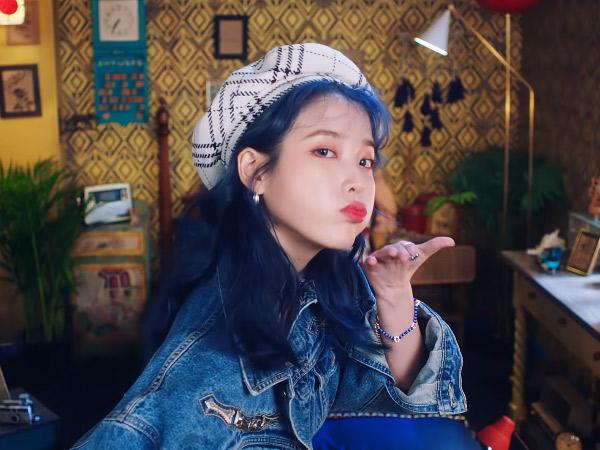 Akhirnya Rilis, Lagu Comeback IU 'Blueming' Langsung Rajai Chart Musik