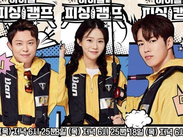 Idol Fishing Camp, Variety Baru JTBC yang Pertemukan Idola K-Pop 3 Generasi