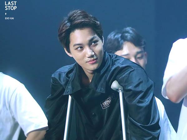 Kembali Alami Cedera Kaki, Kai Harus Absen di Hari Ketiga Konser Solo EXO
