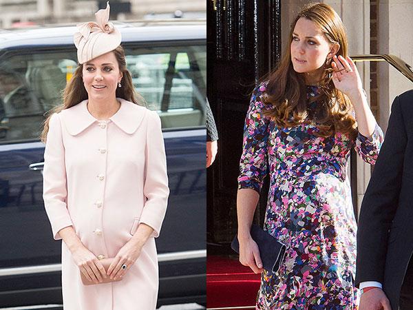 Sering Pakai Baju Pink, Kate Middleton Beri Petunjuk Jenis Kelamin Anak Keduanya?