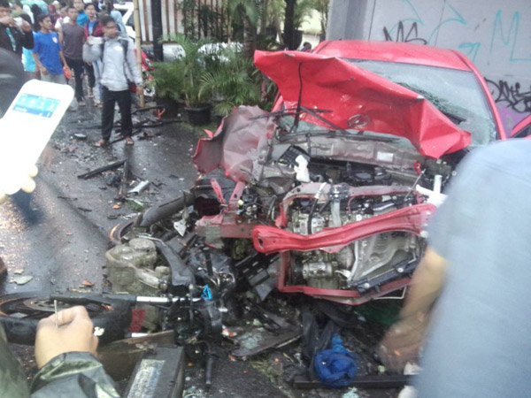 Libatkan Belasan Kendaraan, Ini Daftar Korban Kecelakaan Beruntun Gadog Puncak