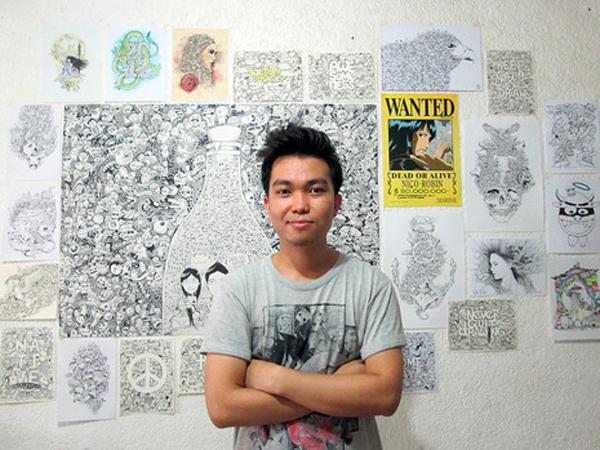 Simak Gambar Sketsa Keren Karya Seniman Asal Filipina Ini, Yuk!