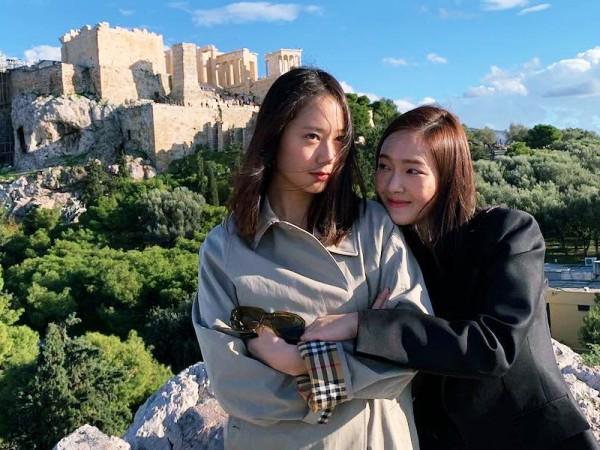 Sibling Goals, Jessica Jung Kirim Kado Manis ke Lokasi Syuting Untuk Krystal