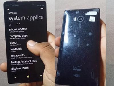 Inilah Penampakan Lumia 929 di Dunia Maya