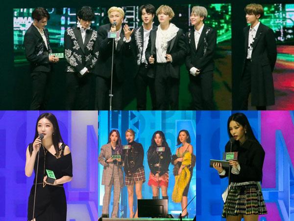 BTS Sapu Bersih Daesang, Inilah Daftar Lengkap Pemenang Melon Music Awards 2019